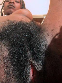 Hairy Ebony Pussy